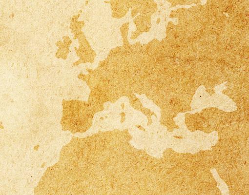 Carta da parati vintage worldmap 400x280 foto murali for Carta da parati cartina geografica