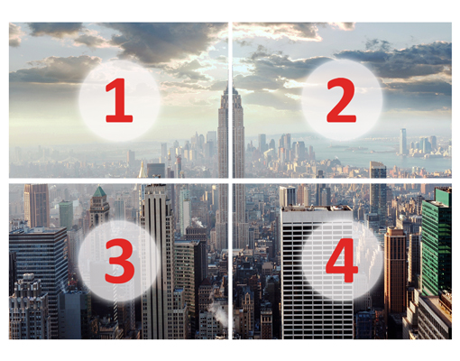 photo wall mural new york sunrise 280x200 wallpaper murals motif xxl poster usa. Black Bedroom Furniture Sets. Home Design Ideas