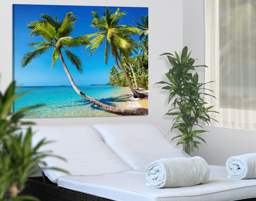 photo sur toile beach of thailand toile impression cadre plage vacances mer ebay. Black Bedroom Furniture Sets. Home Design Ideas