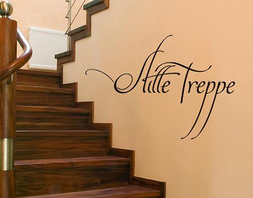 wandtattoo no sf692 stille treppe still flur ruhe treppenhaus. Black Bedroom Furniture Sets. Home Design Ideas