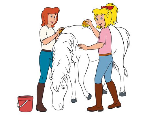 Malvorlagen Bibi Und Tina Mit Pferd