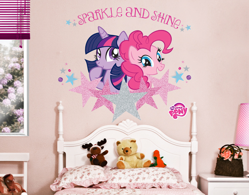 Attrayant Image Is Loading Wall Decal My Little Pony Sparkle And Shine