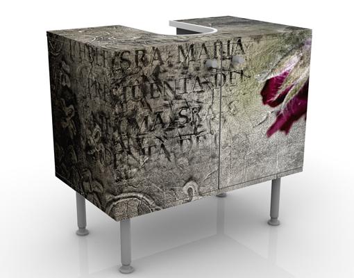 design waschtisch mystic flower waschbecken unterschrank. Black Bedroom Furniture Sets. Home Design Ideas