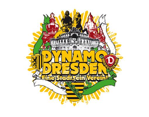 Wandtattoo Sg Dynamo Dresden Elbflorenz Vereinslogo