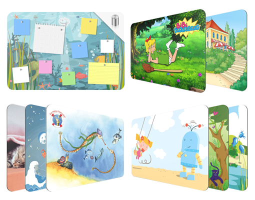 design magnettafel top 12 kinderwelt kinderzimmer pinnwand magnet wand memoboard ebay. Black Bedroom Furniture Sets. Home Design Ideas