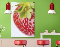 Hartschaum Bild Delicious Strawberry