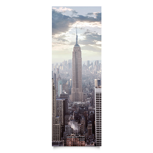 wandbild no 2 sonnenaufgang in new york schmal xxl poster design amerika usa ebay. Black Bedroom Furniture Sets. Home Design Ideas