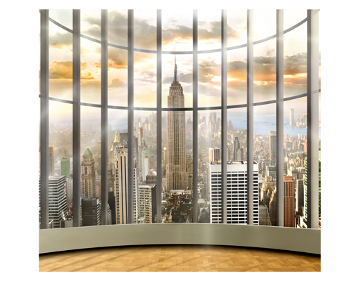 Photo wall mural office view 300x280 wallpaper motif xxl for Acheter poster mural new york