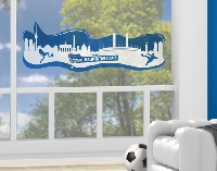 FensterSticker Hertha BSC® Berlin Skyline