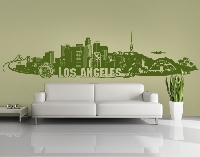 WandTattoo No.FB103 Los Angeles Skyline