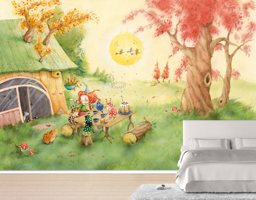 vlies fototapete frida fr hst ckt foto tapeten vliestapete. Black Bedroom Furniture Sets. Home Design Ideas