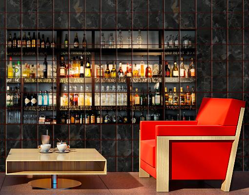 fliesenbild drink lovers 39 bar alkohol getr nk cocktail. Black Bedroom Furniture Sets. Home Design Ideas