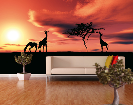 Photo wall mural african life wallpaper wall art wall for African wall mural