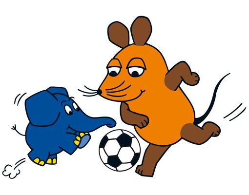 Vorhang Kinderzimmer Elefant :  kinderzimmerseriewdrelefantfussball, 3495 EUR @ bilderweltennet