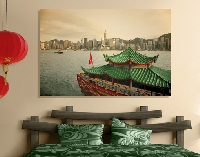 Hartschaum Bild Hongkong