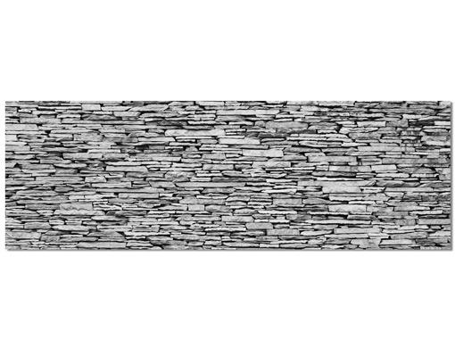 alu dibond butlerfinish bild arizona stonewall panorama. Black Bedroom Furniture Sets. Home Design Ideas