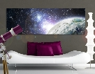 LeinwandBild No.609 Galaxy Light 120x40 cm