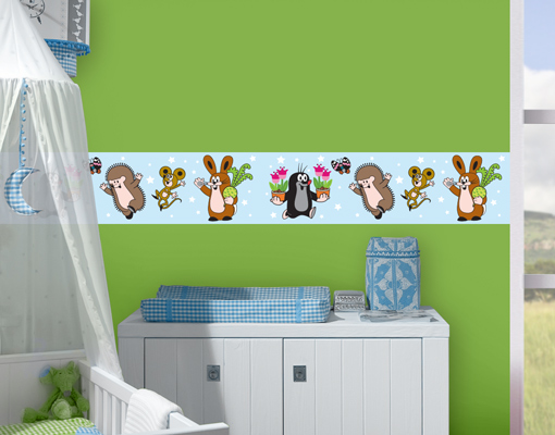 wandtattoo bord re der kleine maulwurf gartenarbeit sticker aufkleber tiere ebay. Black Bedroom Furniture Sets. Home Design Ideas