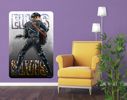 Wall mural elvis presley ace of hearts wall decoration - Poster decoratif mural ...