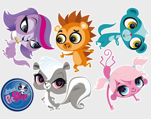 wall decal littlest pet shop so sweet sticker set children