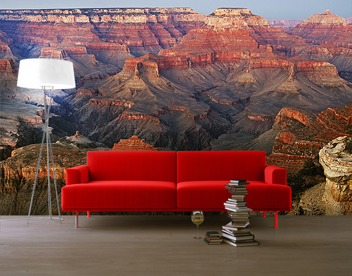 Photo Wall Mural Grand Canyon After Sundown Wallpaper Wall