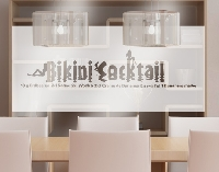 GlasDekor Bild  No.JO3 Bikinicocktail I
