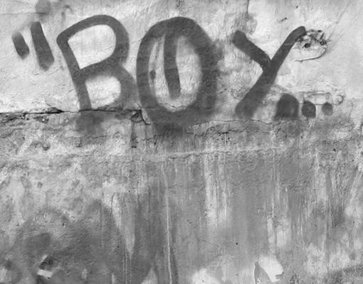 fensterbild graffiti art sprayen schwarz weiss kunst jugend wand ebay. Black Bedroom Furniture Sets. Home Design Ideas