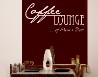 WandTattoo No.CA27 WunschText Coffee Lounge II