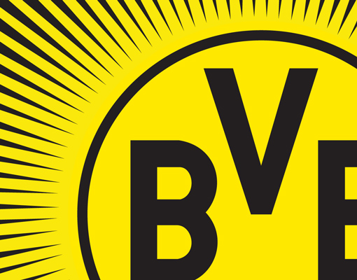 leinwand bild bilder borussia dortmund fahne sonne fu ball bvb fan artikel logo ebay. Black Bedroom Furniture Sets. Home Design Ideas
