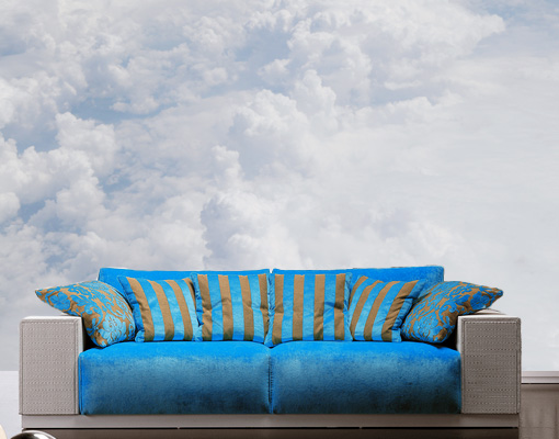 Photo wall mural on cloud nine wallpaper wall art wall for Cloud wallpaper mural