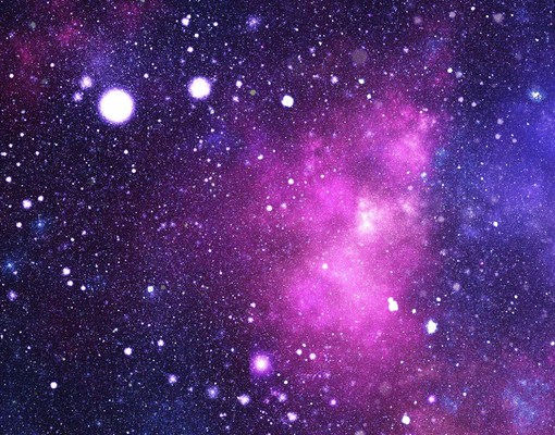 Fleece wall mural galaxy wallpaper wall art wall decor for Space fleece fabric