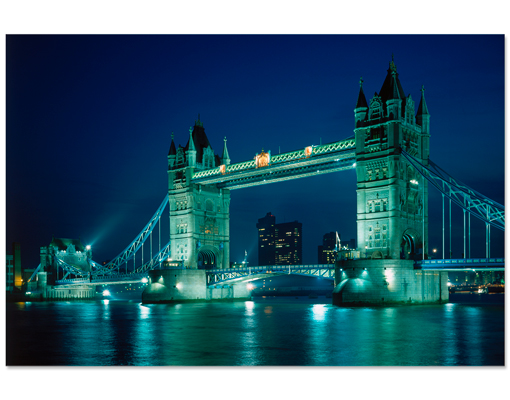 hartschaum bild tower bridge themse gro britannien london england metropole 90x60cm bilder. Black Bedroom Furniture Sets. Home Design Ideas