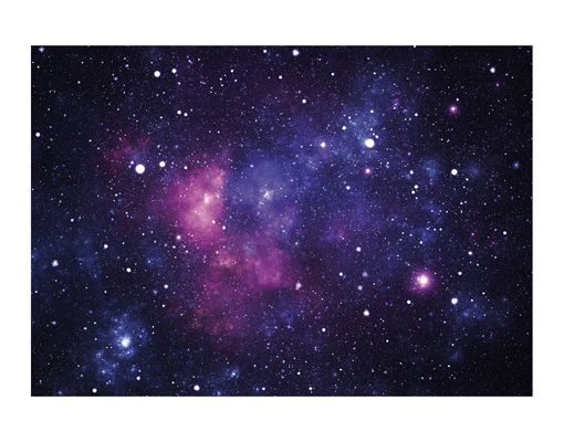 Photo wall mural galaxy 400x280 wallpaper wall art decor for Galaxy wand
