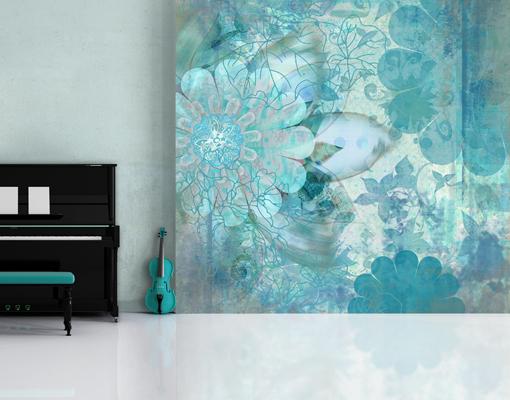 Wandgestaltung Mit Fototapete. ideen f r fototapete design und ...