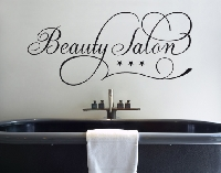 WandTattoo No.SF671 Beauty Salon