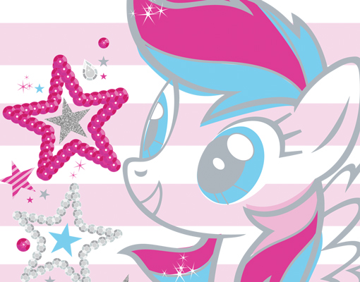 Fleece Wall Mural My Little Pony Pink Rainbow Dash