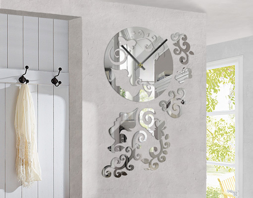 design wanduhr top 6 wandtattoo uhrwerk zeit junghans. Black Bedroom Furniture Sets. Home Design Ideas