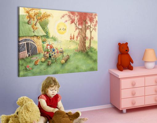 leinwandbild frida fr hst ckt arena verlag kinderzimmer. Black Bedroom Furniture Sets. Home Design Ideas