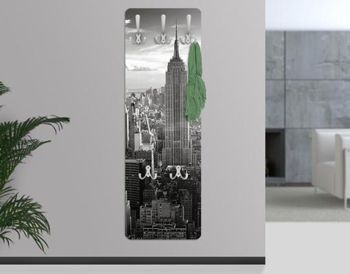 Design Garderobe Mdf Holz Chinese Door ~ Design Garderobe Top 20 Wand Haken Flur Diele Ornamente Muster Skyline