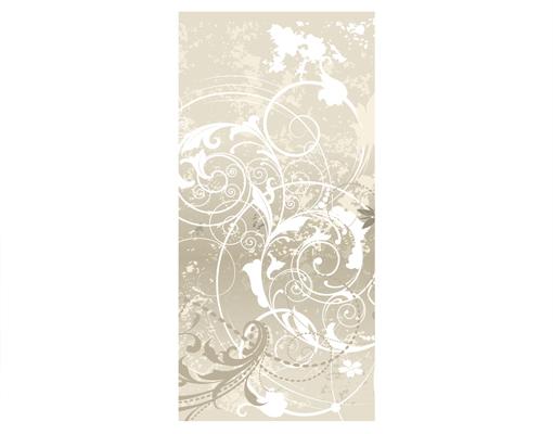 design raumteiler perlmutt ornament design schiebe gardine fl chen vorhang ebay. Black Bedroom Furniture Sets. Home Design Ideas