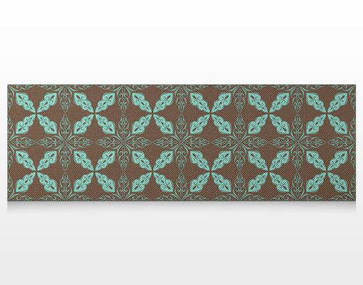 leinwandbild marokkanisches ornament panorama leinwanddruck rahmen gro panorama orient. Black Bedroom Furniture Sets. Home Design Ideas