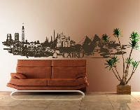 WandTattoo No.FB82 Cairo Skyline XXL