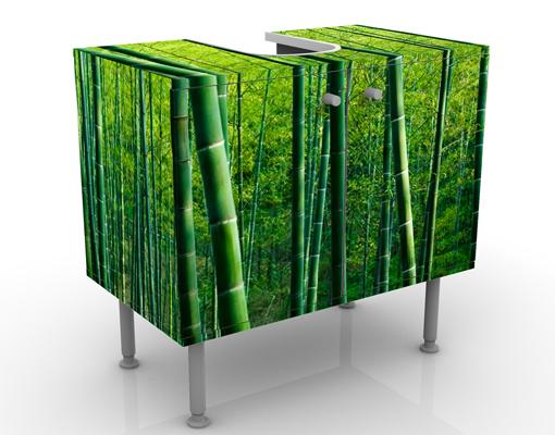 design waschtisch bambuswald waschbecken unterschrank bad. Black Bedroom Furniture Sets. Home Design Ideas