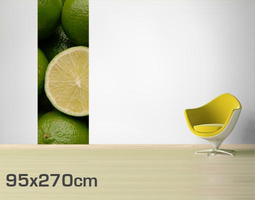 Fleece Wall Mural Beautiful Lime Green Wallpaper Wall Art