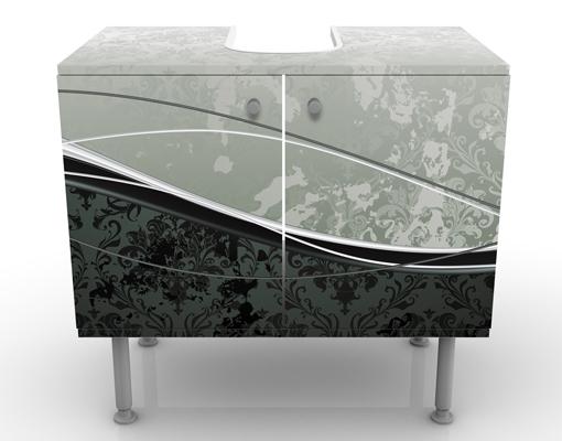 design waschtisch swinging baroque waschbecken unterschrank bad m bel barock ebay. Black Bedroom Furniture Sets. Home Design Ideas