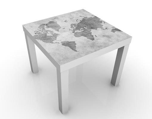 Tisch Weltkarte Karte 2018