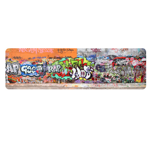 wandbild graffiti wandtattoo grafitti graffitti sprayen kunst jugend ebay. Black Bedroom Furniture Sets. Home Design Ideas