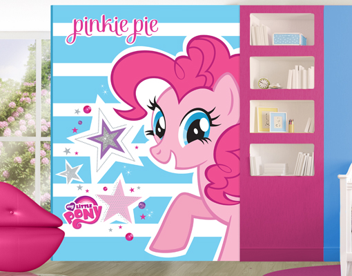 photo wall mural my little pony pinkie pie motive wall popular pony wall stickers buy cheap pony wall stickers