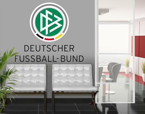 Deutscher fußball bund so könnte ihr bild an der wand aussehen