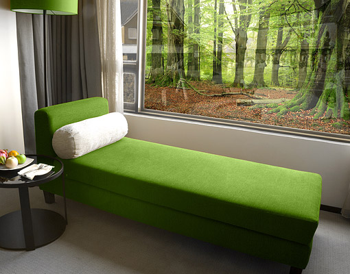 fensterbild mighty beech trees wald b ume baum natur wandtattoo erholung laub ebay. Black Bedroom Furniture Sets. Home Design Ideas